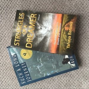 2 Novels. One signed by the author.